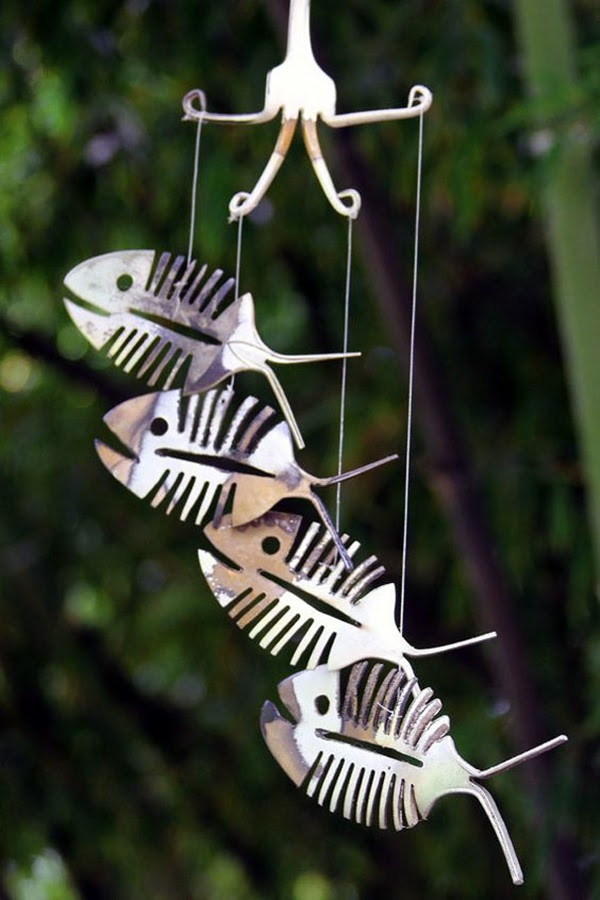 DIY Wind Chime Ideas to Try This Summer (22)