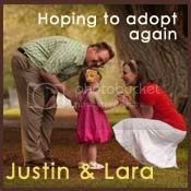 Justin and Lara Hope 2 Adopt