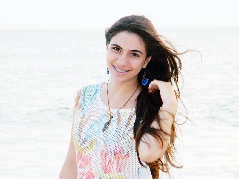 juliana leite make up praia look do dia jeans blusa floral verao 028