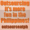 outsource, it's more fun in the Philippines Logo!