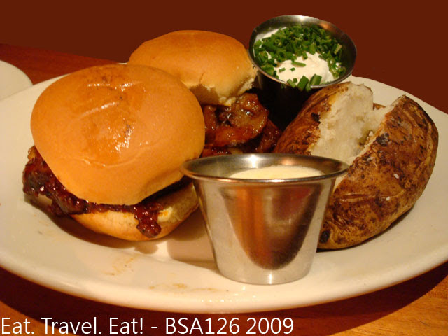 Tri Tip Sliders with Baked Potato- Lunch Combo