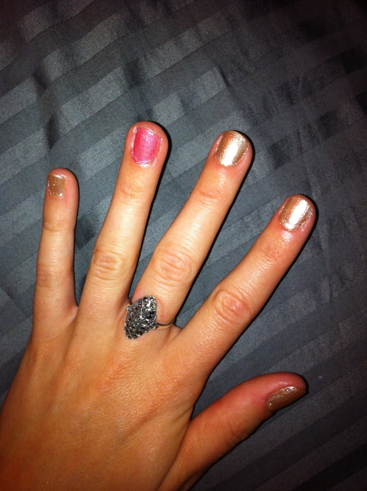 Wedding guest weekend nails! | My Style | Pinterest