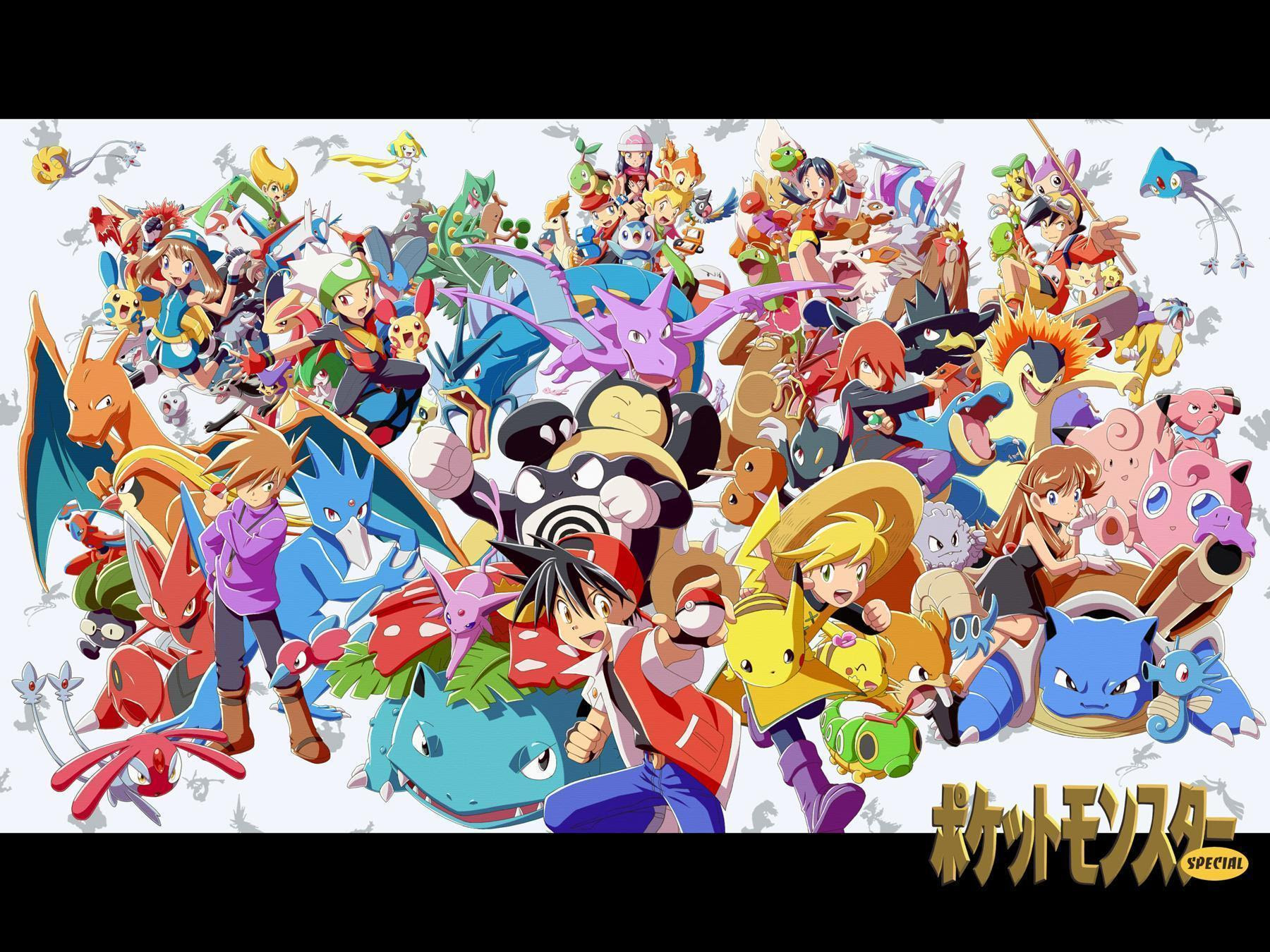 Pokemon Adventures Wallpapers  Wallpaper Cave