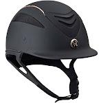 One K Defender Rose Gold Stripe Helmet - BLACK MATTE\XLARGE