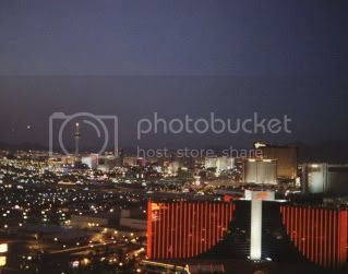 Ghostbar view of Vegas