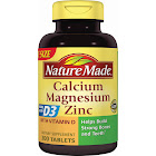 Nature Made Calcium Magnesium Zinc with Vitamin D, Tablets - 300 count bottle