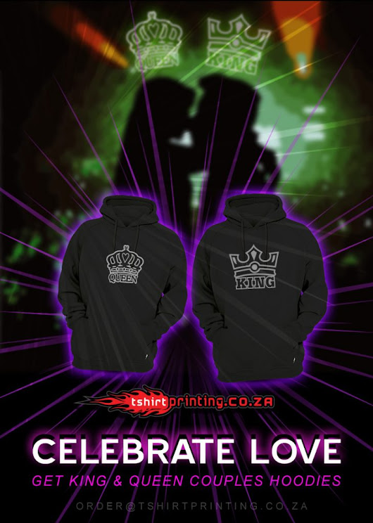 King & Queen Hoodies - King & Queen t-shirts Buy Online