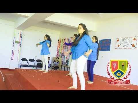 Dhaakad Squad - Dangal - Teachers Day | Dance Performance on Bollywood Song | Nims University