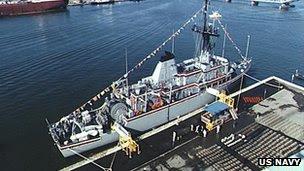 USS Avenger (Arquivo)