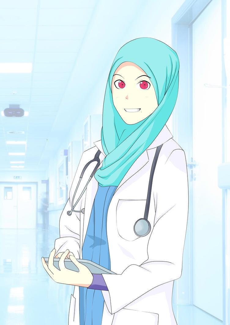 Koleksi Wallpaper Anime Hijab Hd