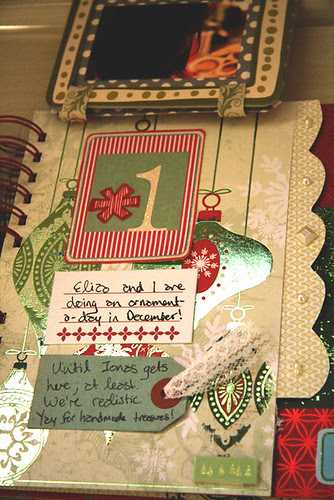 December Daily: Day 1 Close Up
