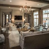 Interior design inspiration photos by Thompson Custom Homes.