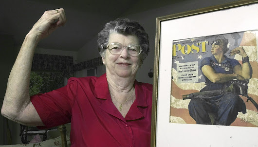 Model for Rockwell's Rosie the Riveter painting dies at 92
