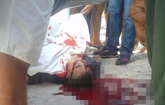 Corpo de médico morto em Triunfo Potiguar ainda está no local do crime