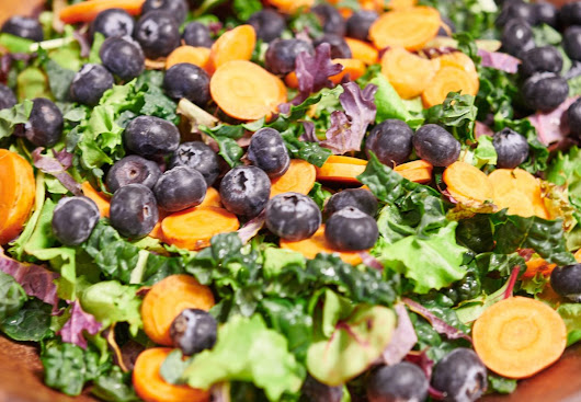 Spring Kale Salad – Food and Health Communications