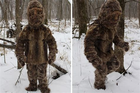 Bigfoot sighting in North Carolina was just me dressed in