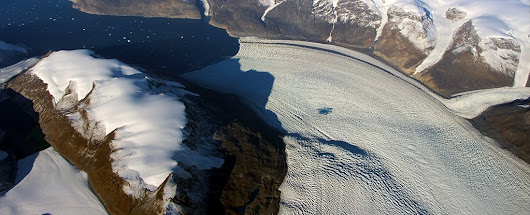 NASA Watched a Wave of Ice Bend The Earth's Crust