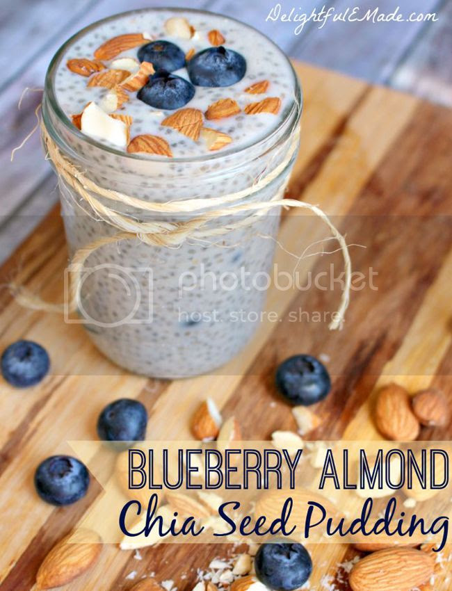 healthy blueberry chia pudding recipe