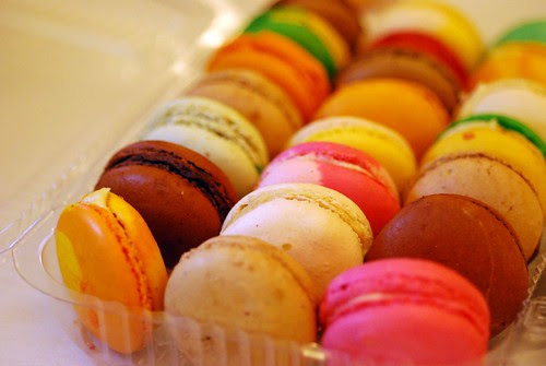 Macarons from Artichoke Cafe