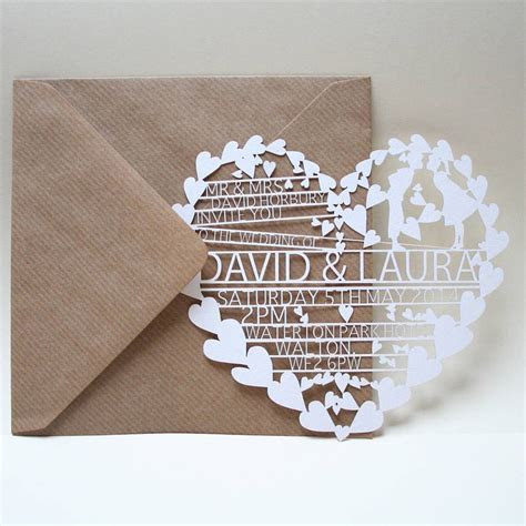 Wedding Invitation Card Trend: Laser Cut Invites   Arabia