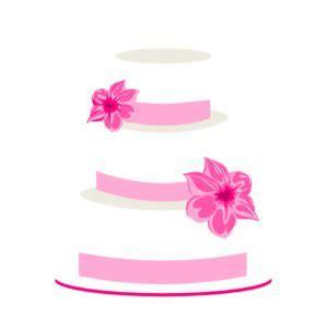 Pink Wedding Cake Clip Art at Clker.com   vector clip art