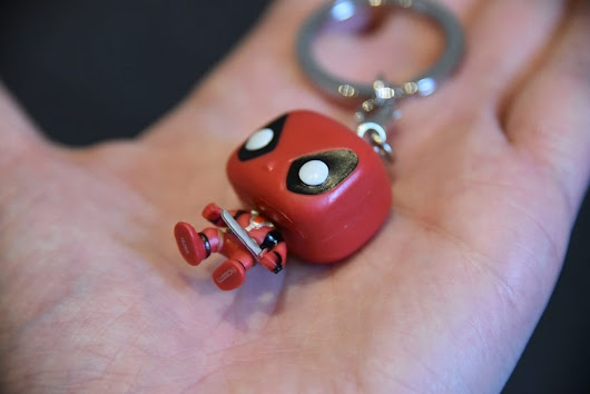Deadpool Pocket POP! Keychain from Funko UK