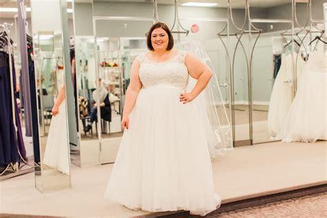 Plus Size Wedding Dress Shopping with David's Bridal