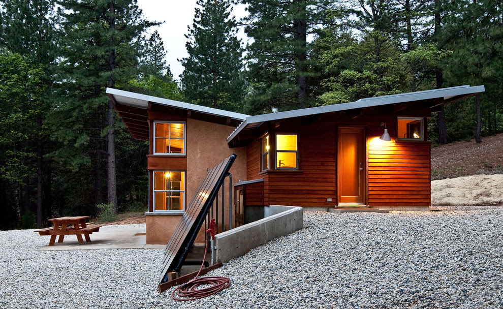 Chalk Hill Off-Grid Cabin