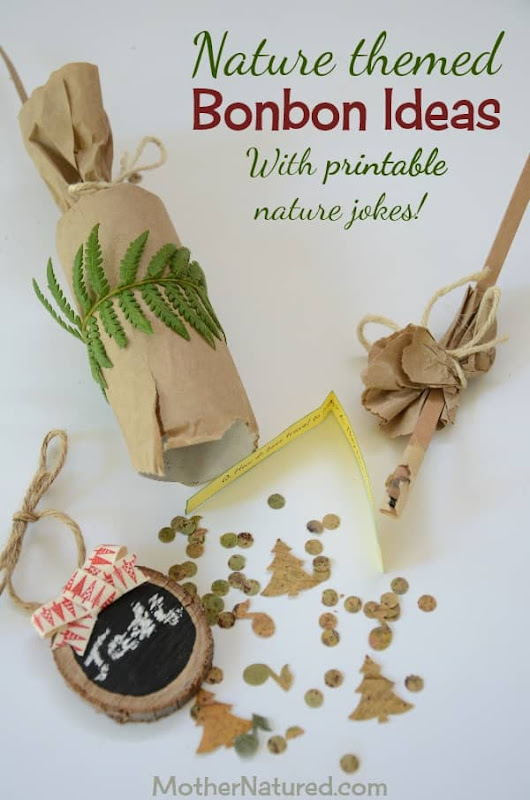 Nature bonbon ideas -- with free printable nature jokes! | Mother Natured