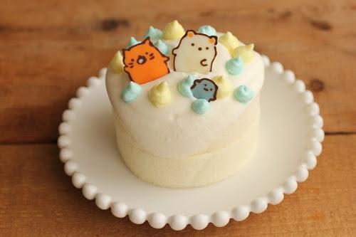 すみっこぐらしの誕生日ケーキ ビジュアル系フード