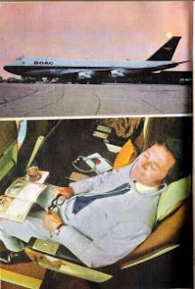Old Ad of BOAC airlines