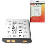 HQRP Battery for Sanyo NP-45 / NP45 fits VPC-E1600TP, VPC-E1500TP, VPC-E1500TPLB, Xacti VPC-T1060 Replacement plus HQRP LCD Screen Protector