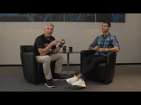 Herbalife Nutrition CEO Rich Goudis and Cristiano Ronaldo