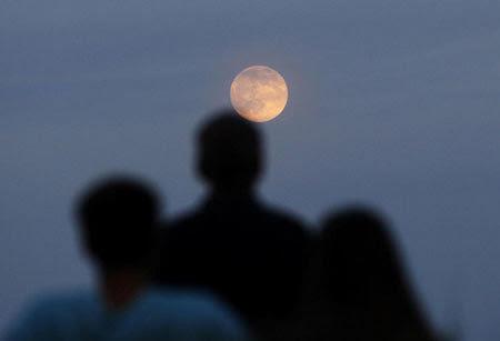 siêu trăng, thế giới, thiên văn, lung linh