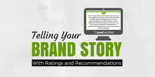 Telling Your Brand Story With Ratings & Recommendations: Context Matters