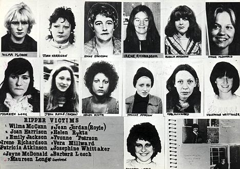 The victims: The 13 women killed by the Yorkshire Ripper Peter Sutcliffe