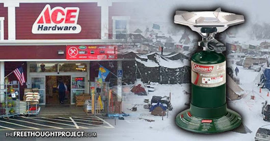 Sheriff's Dept Demands ACE Hardware Stop Selling Heating Supplies to Water Protectors, ACE Complies
