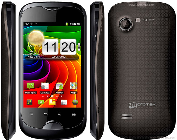 Micromax A80 Android Touch Screen SmartPhone 5MP wi-fi Images/Pictures