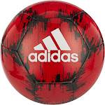 Adidas Glider 2 Soccer Ball, Power Red/Black/White, 3
