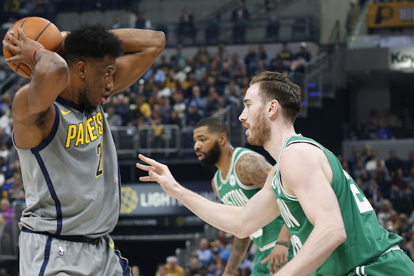 b60c86150e8 Gordon Hayward has historic night in Celtics win over Pacers