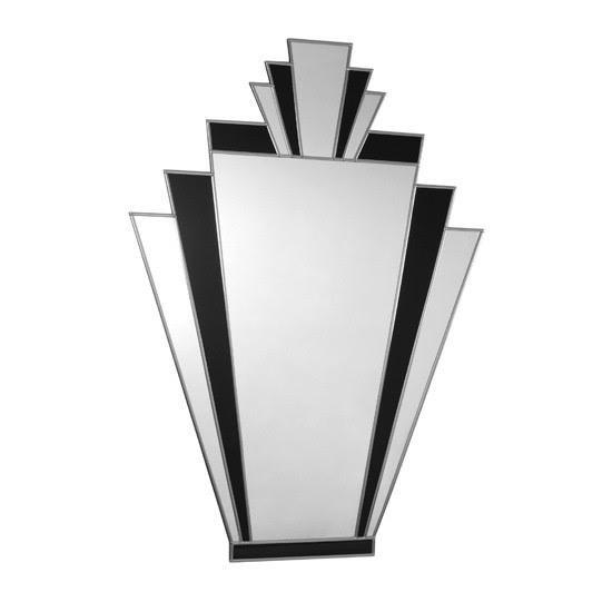 Antonio Art Deco mirror from The Chandelier & Mirror Company | Art ...