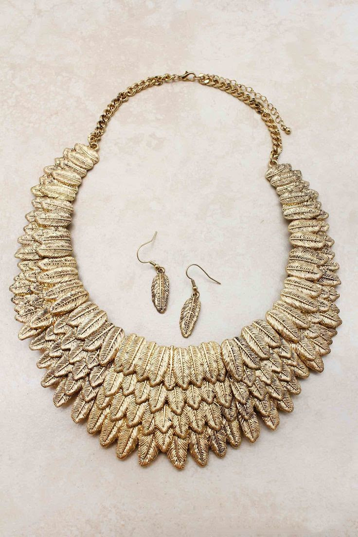 Necklaces | Golden Athena Statement Necklace | Emma Stine Jewelry Necklaces