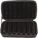 Hohner Piedmont Blues Harmonica with Case - 7 pack