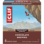 Clif Energy Bars, Chocolate Brownie - 6 pack, 2.40 oz bars