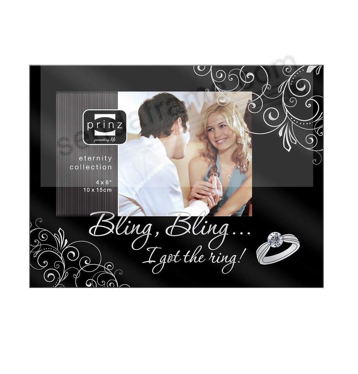 Ibling Blingi Got The Ringi Black Wood Frame By Prinz