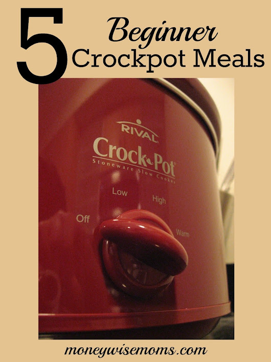 5 Beginner Crockpot Meals {that anyone can make} - Moneywise Moms