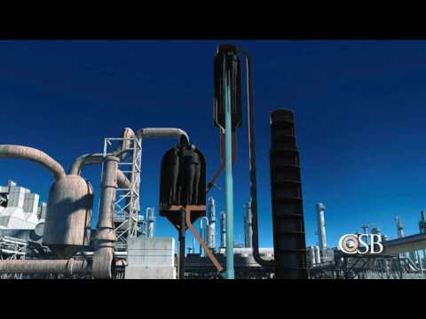 CSB Animation and Analysis of Torrance Refinery Explosion