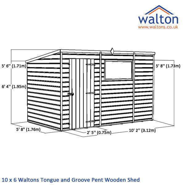 Tongue And Groove B And Q: B And Q 10 X 6 Shed