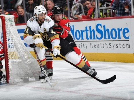 RECAP: #Blackhawks Thwarted By Golden Knights by @Pappy_Hour #VegasBorn #CHIvsVGK #Rinkrats #HockeyTwitter...