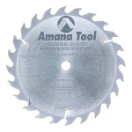 Amana Tool 610240 Carbide Tipped Ripping Standard 10 Inch D x 24T FT, 20 Deg, 5/8 Bore, Circular Saw Blade
